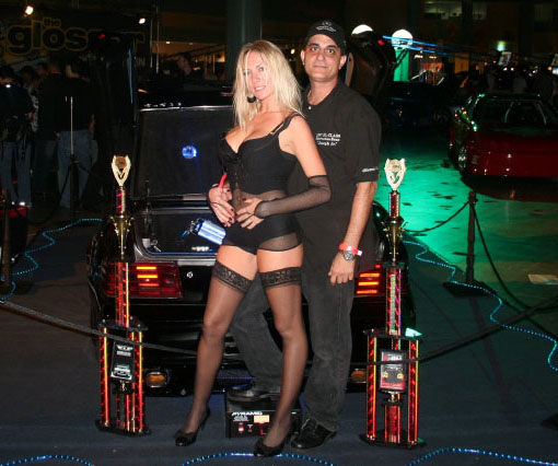Joseph & Natalie Daleo at HIN Miami 2007